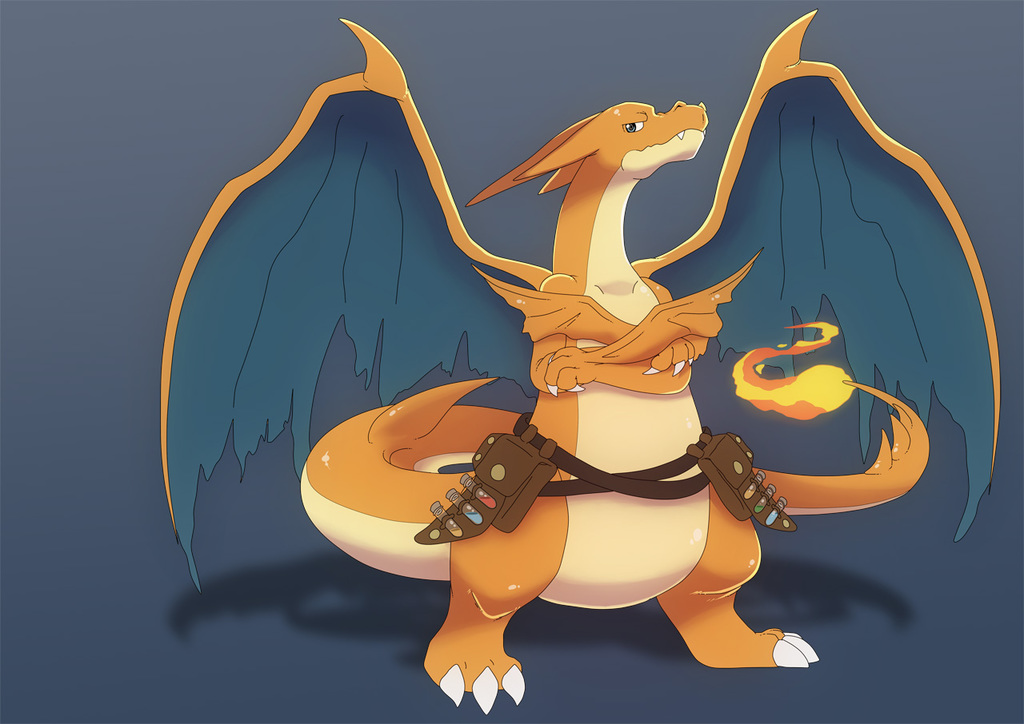 Vulcan - The Power Obsessed Charizard Y