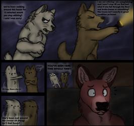 24 hour comic challenge 'page' 2