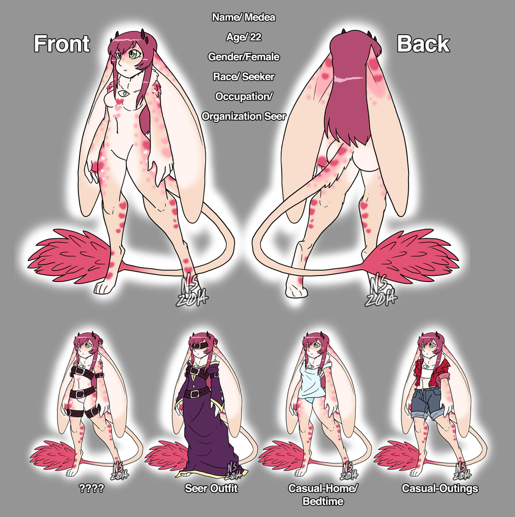 Mega Massive Medea Reference Sheet