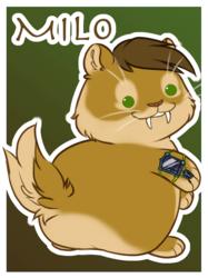 Puff Badge: Milo