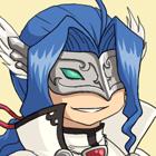 Bleu Blanc Twitter Icon