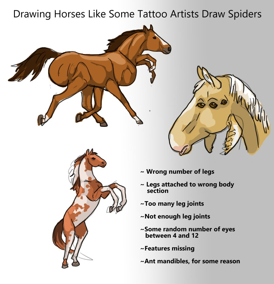 The Problem With Spider Tattoos