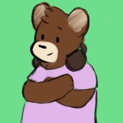 A Bear with Headphones