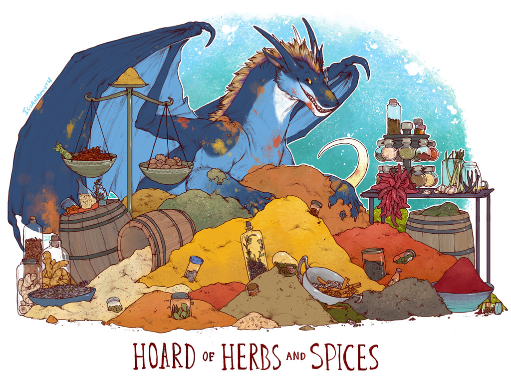 [IguanaMouth] Hoard of Herbs and Spices