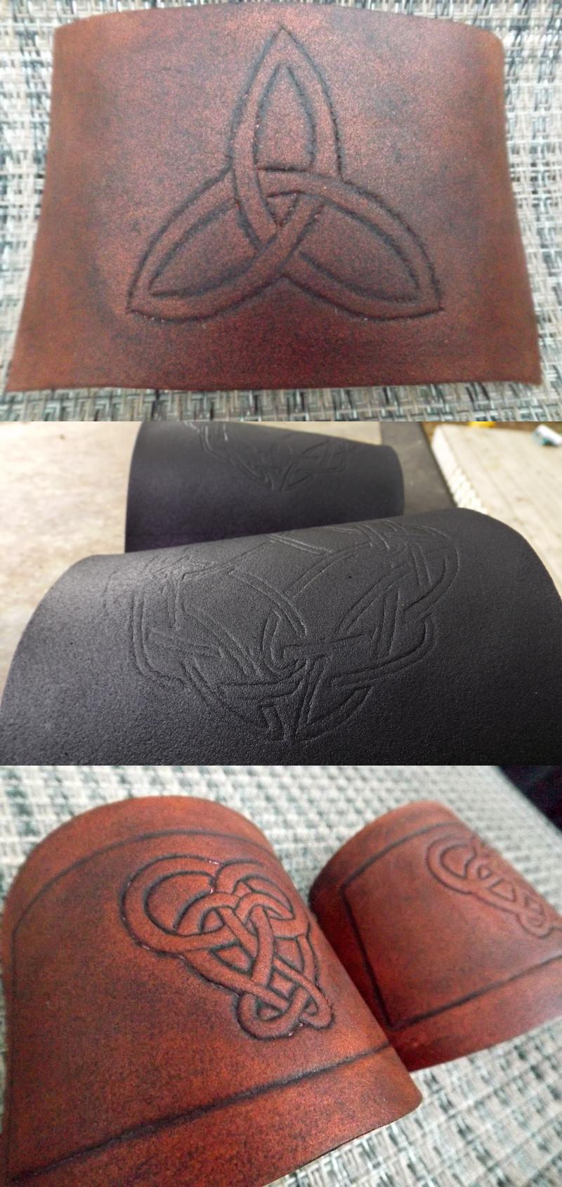 """Leather"" Bracers"