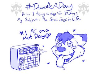 [Doodle A Day] Day 1