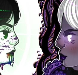 Grimdark and Illuminated Girlfriends