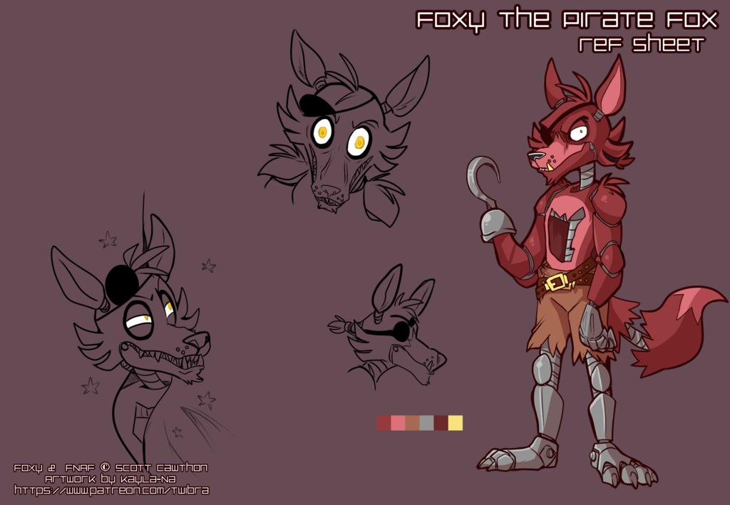 Ref Sheet - Foxy