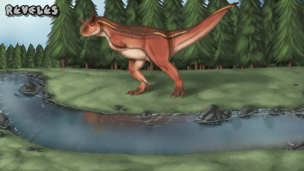 Carnotaurus -REVELES