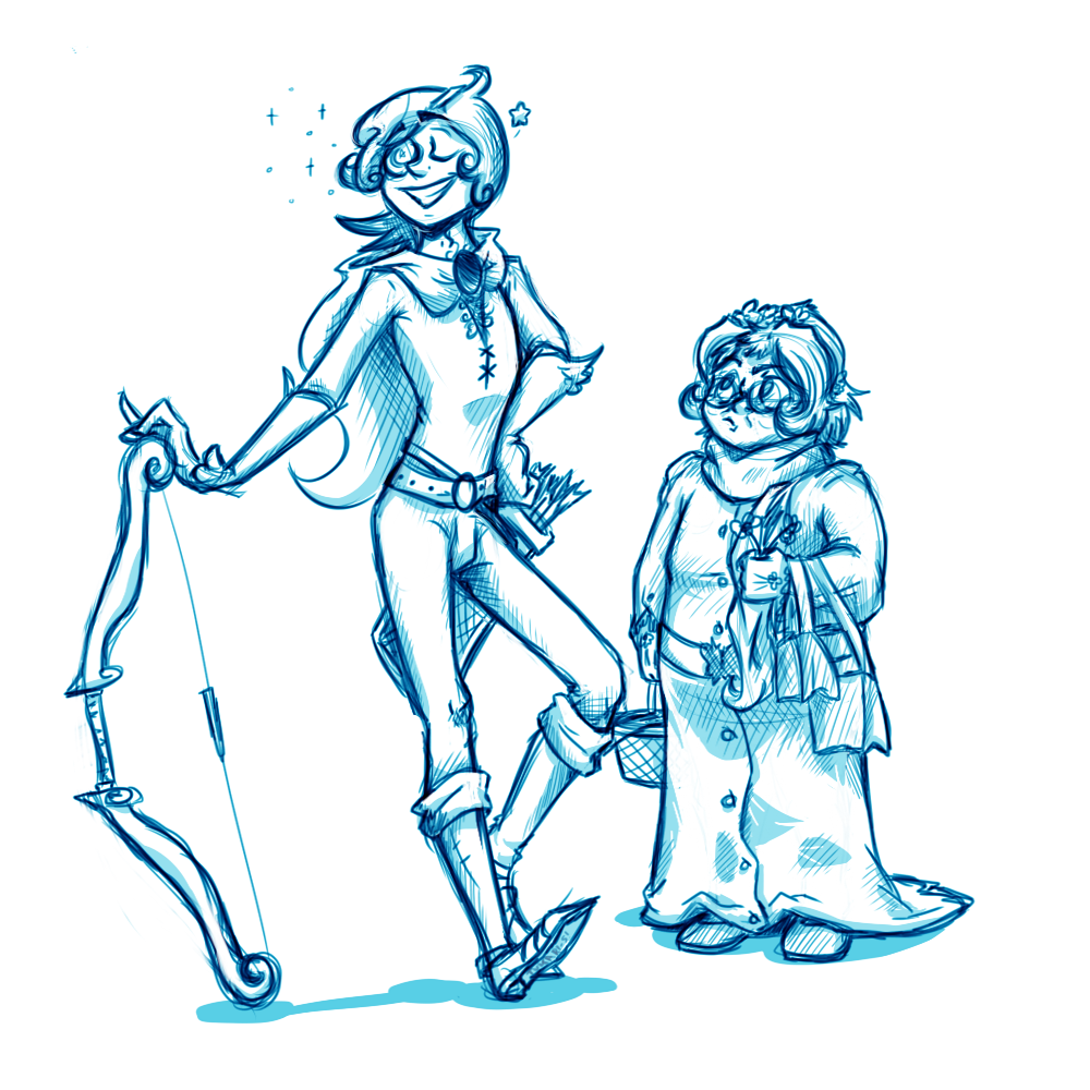 An Old Herbalist and His Hired Hand