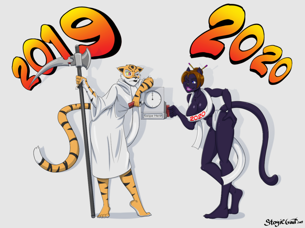 2020 -New Years Commission for ItaDaleon