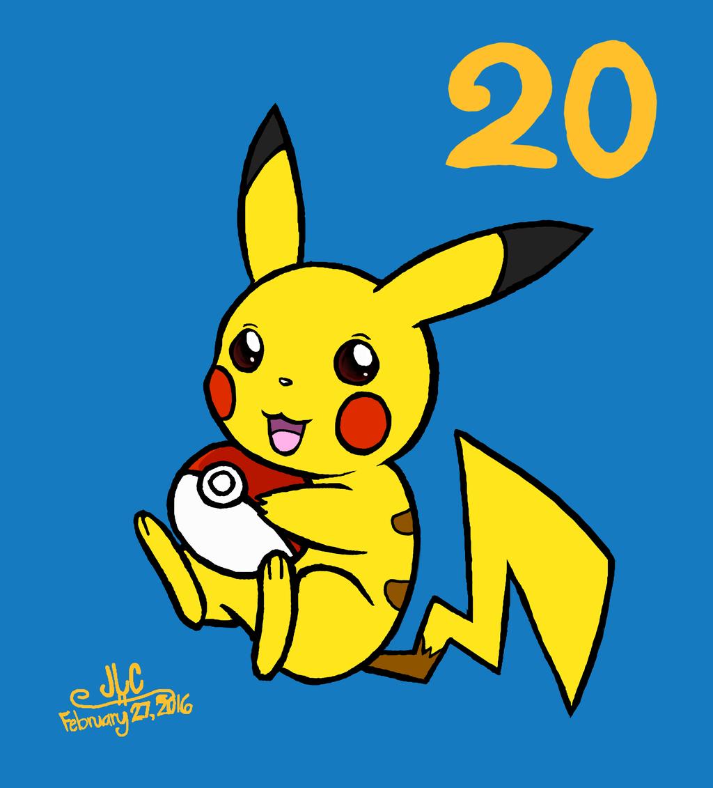 Happy Pokemon 20th Anniversary!
