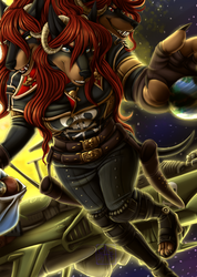 [Com] Full- Coracroma Space Pirate