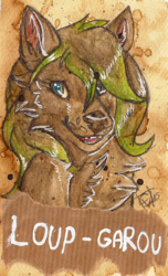 Badge for Loup