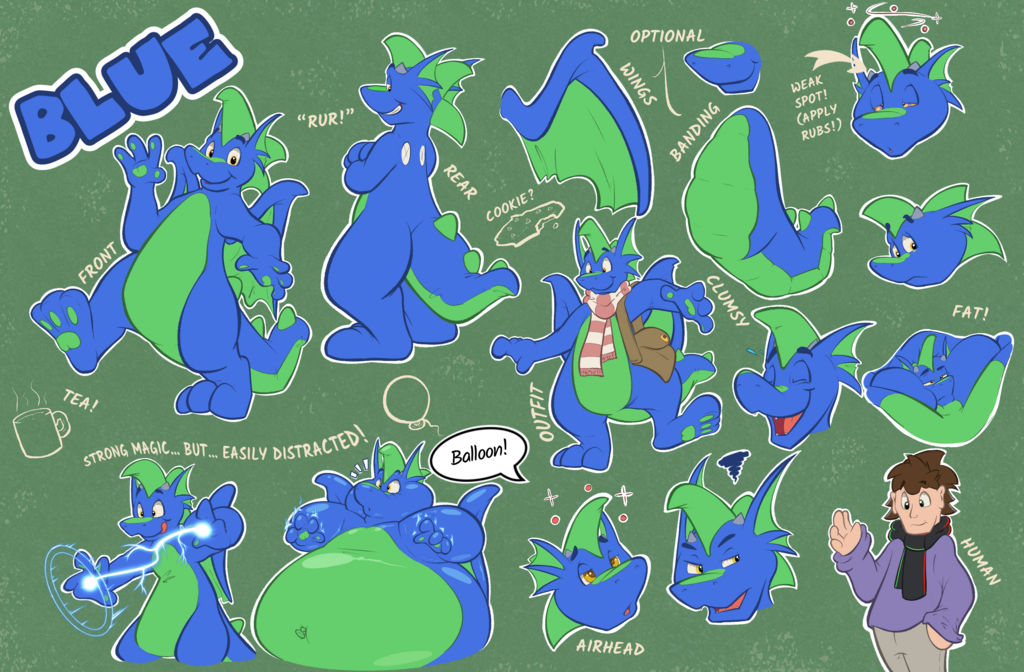 2020 Reference Sheet - Blue