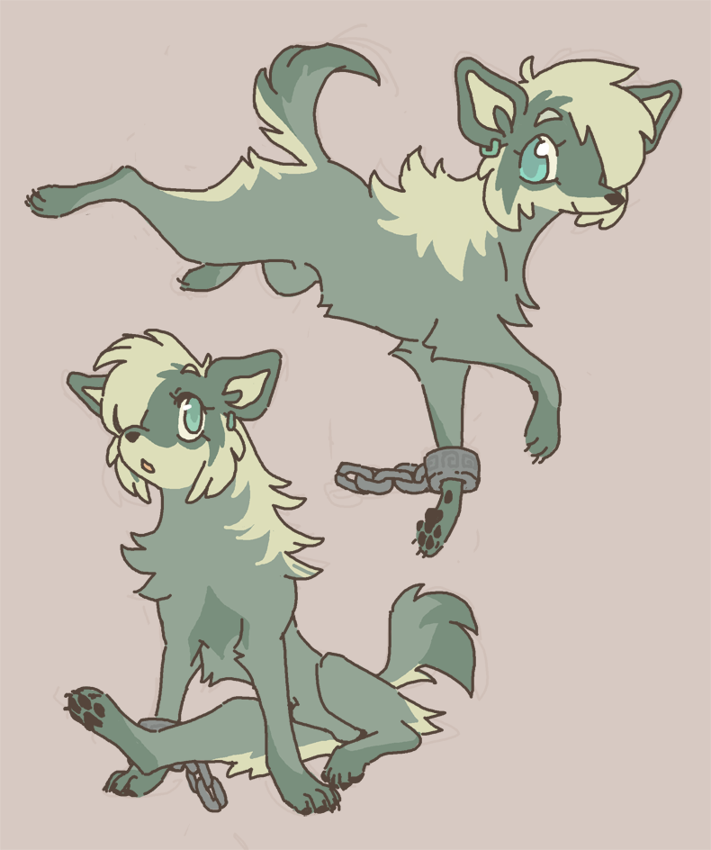 Most recent image: wolf twink