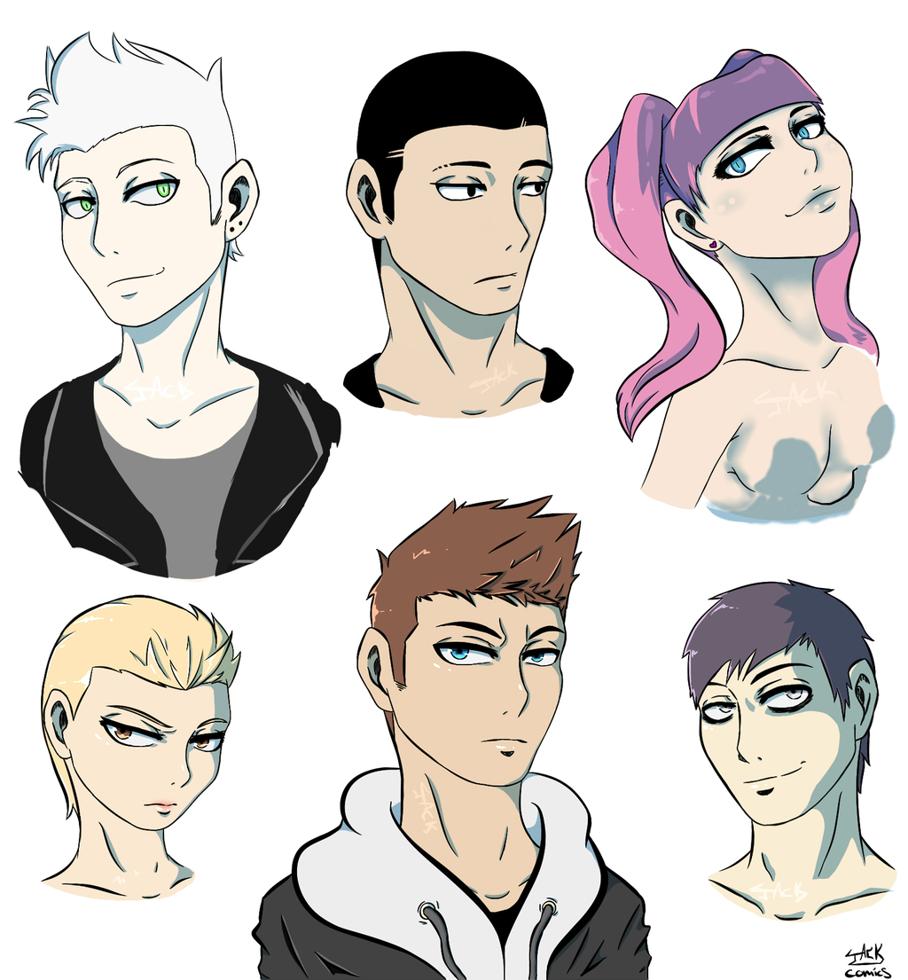 old character designs