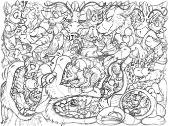 epsole sketchpage commission (vore)