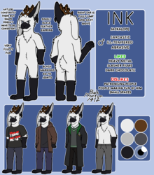 Ink Reference Sheet (personal)