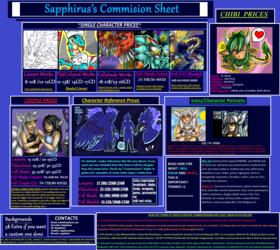 Sapphirus's Commission Sheet