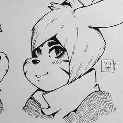 Inked Usagi