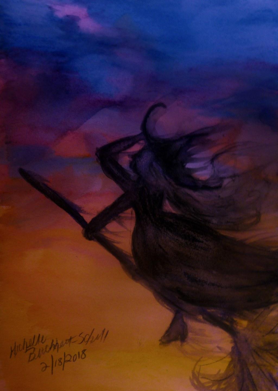 Phantom Halloween Witch