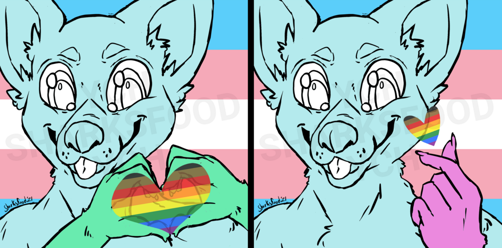 Most recent image: Pride Month 2021 YCH