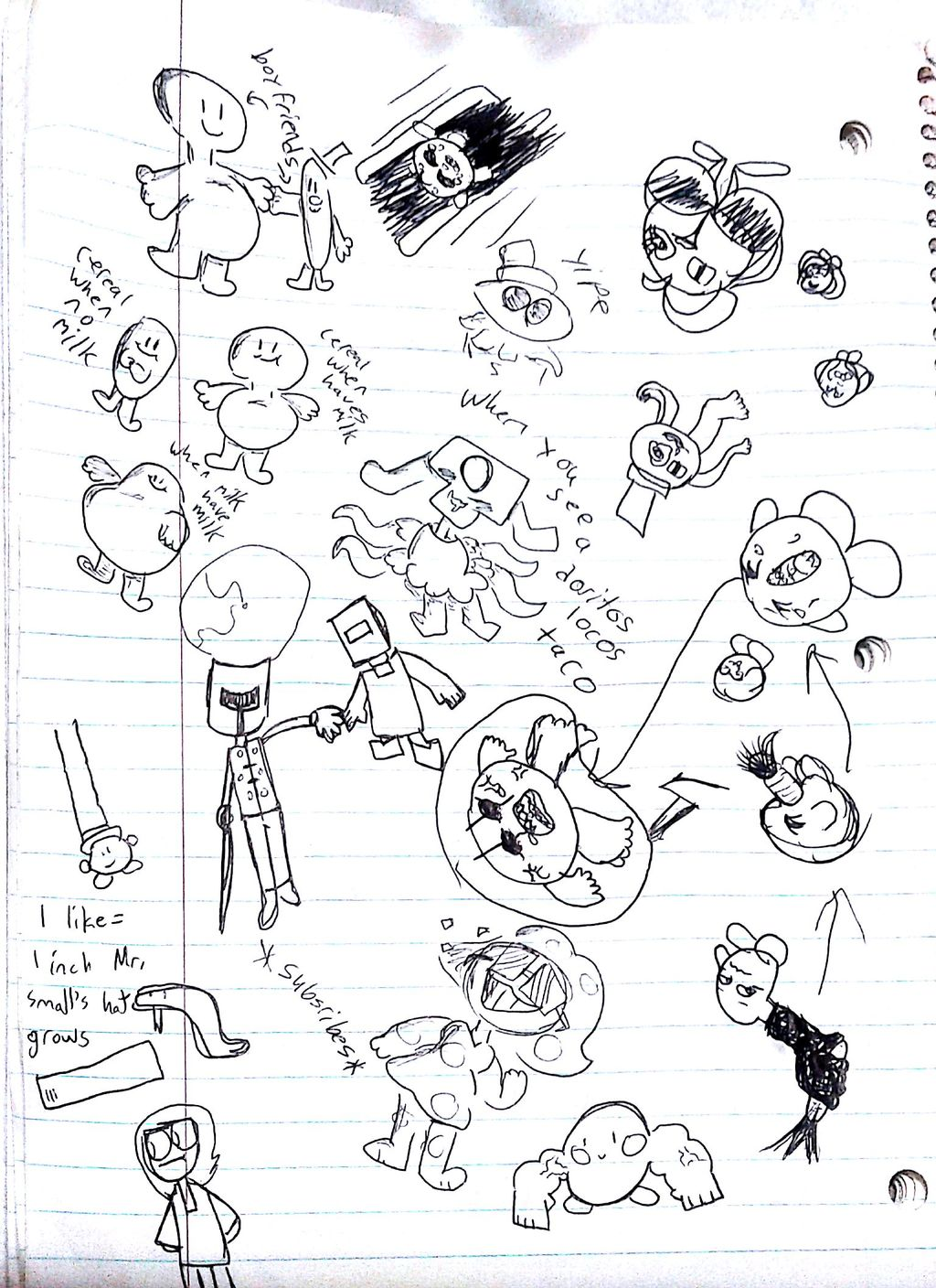 Doodles with siblings