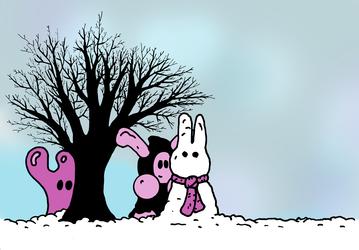 Gilbert & Grim: Grim and the Snow Bunny
