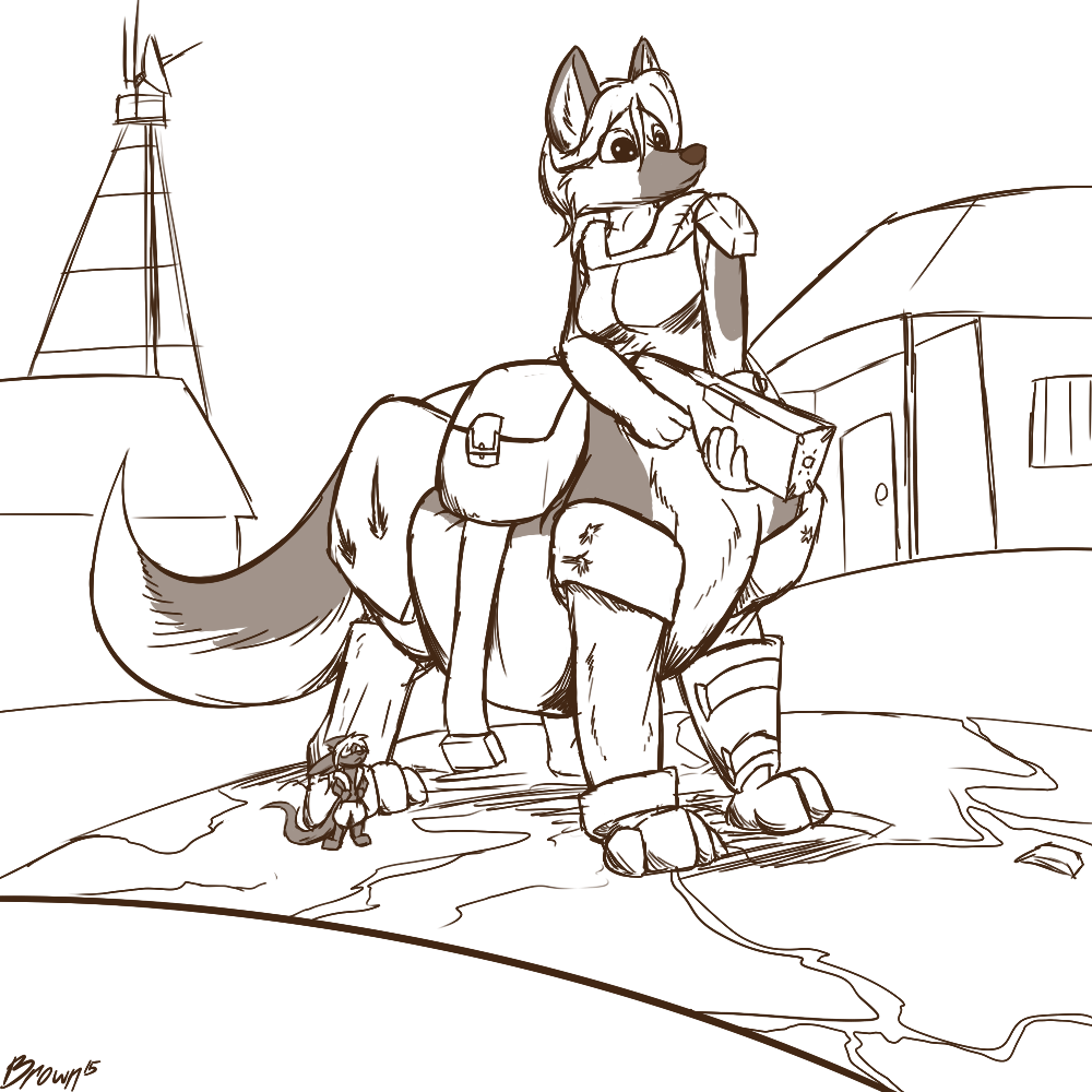 Wuffpuff of the Wastes! [C]