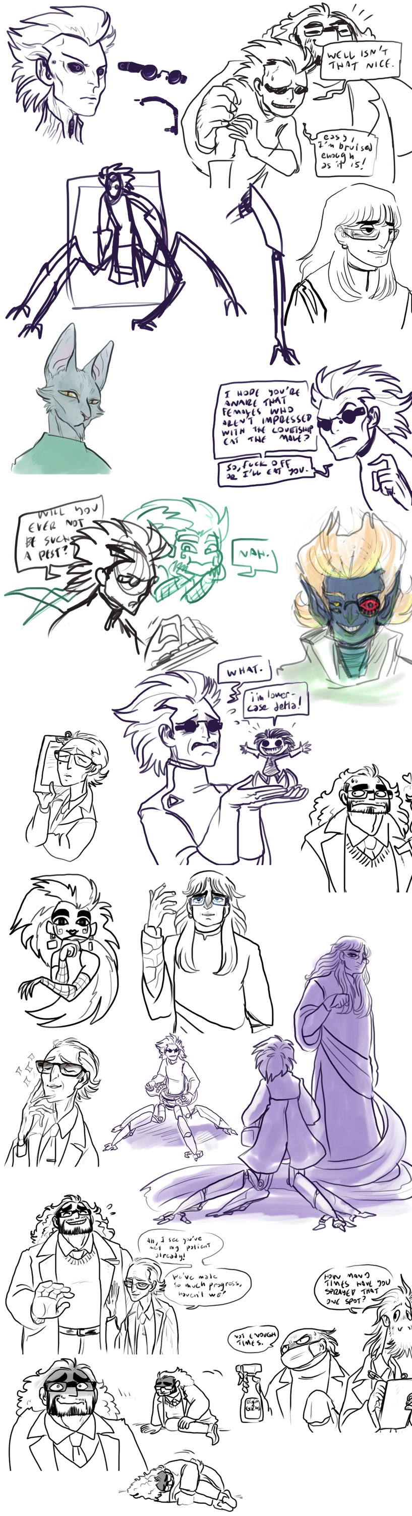 nano doodles and such