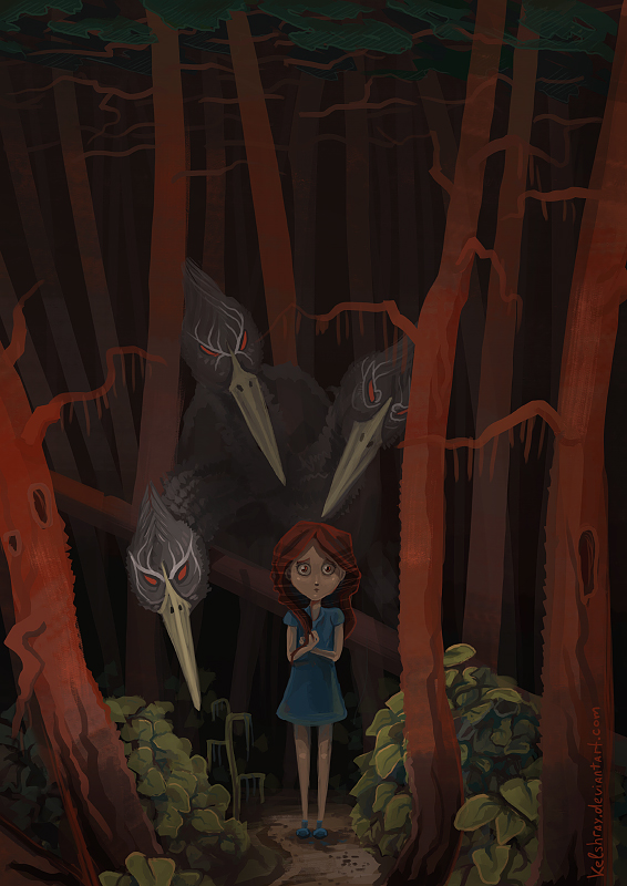 Shadow Forest illustration - 2