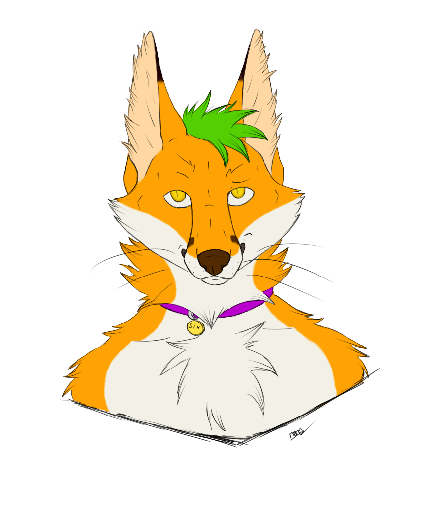 Most recent image: SixFox Bust[WIP]