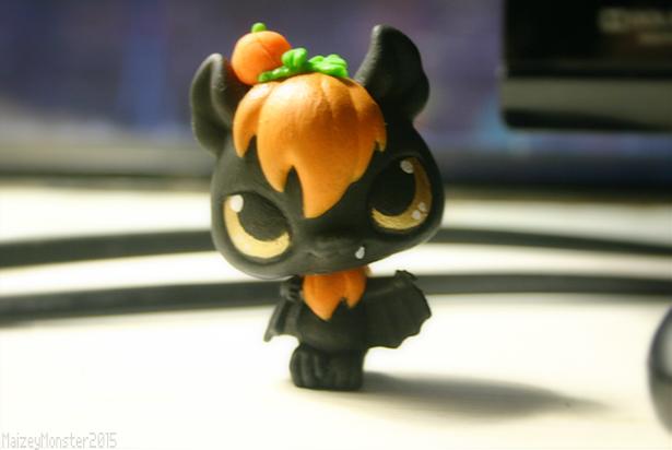 Custom Lps Pumpkin Princess