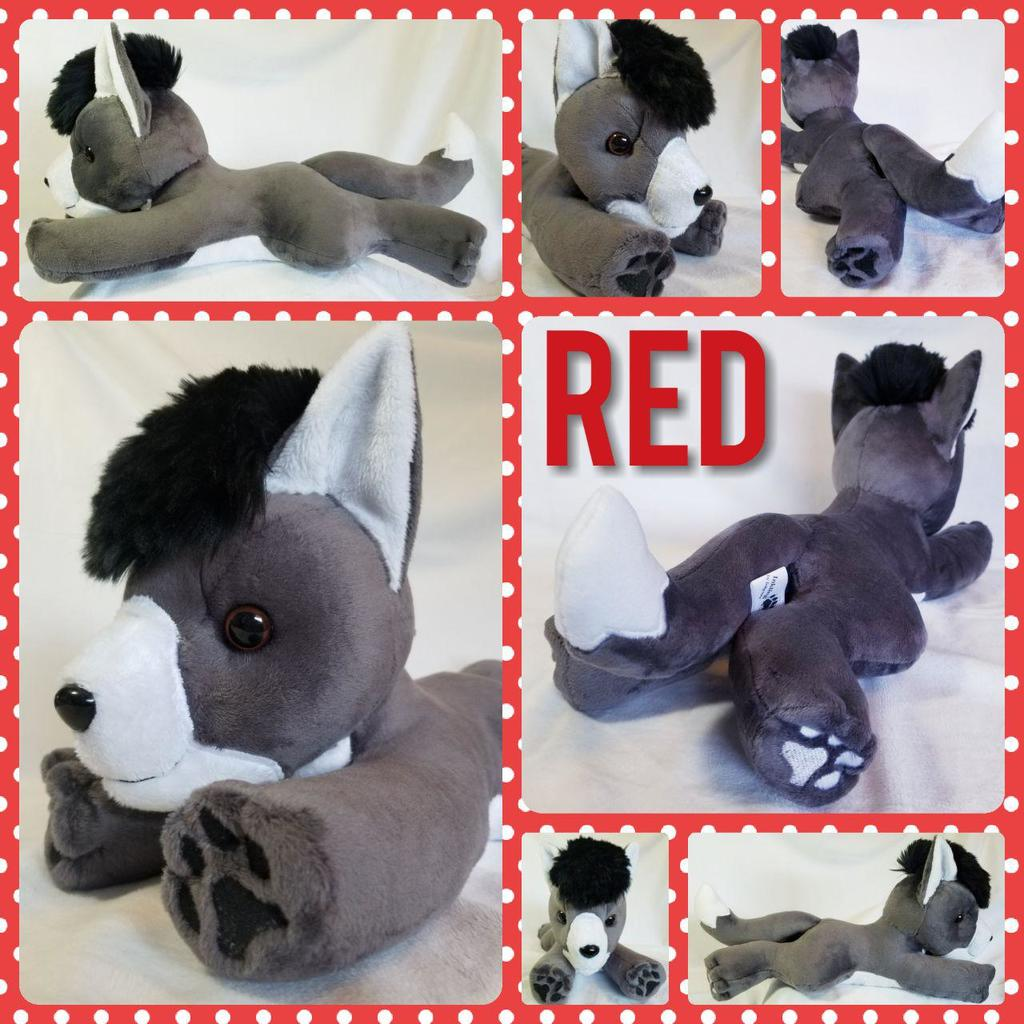 Red the plushie