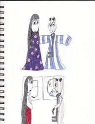 6 and Akane(AU)