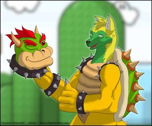 Commission for BabyMorris - Halloween King Koopa TF