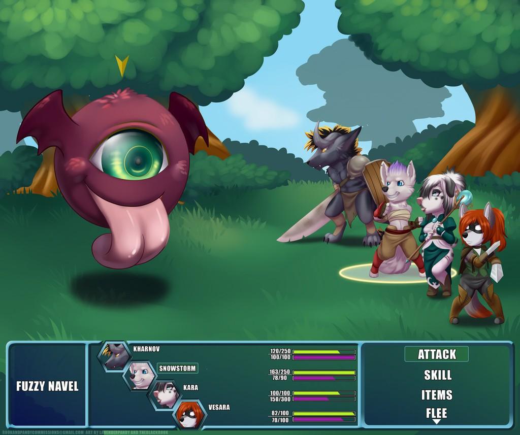 Atlus Isle RPG Chibi Commissions Batch 1