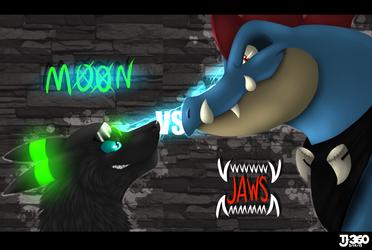 Moon vs Jaws