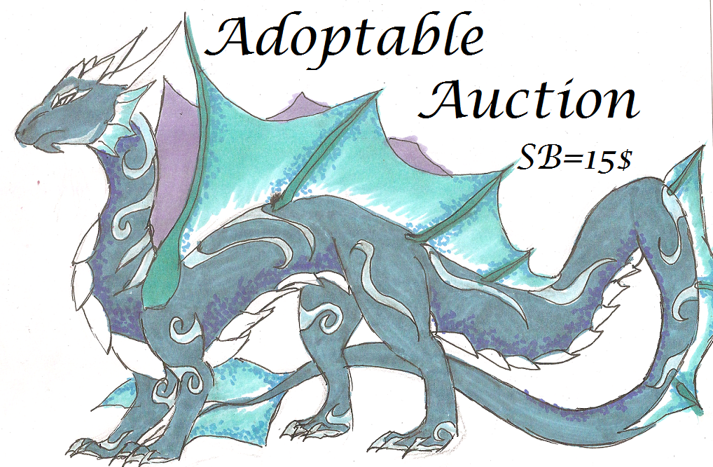 Most recent image: Adoptable water dragon!