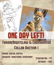 Farore x Cadmiumtea Collab Auction! Speedpaint! ONE DAY LEFT