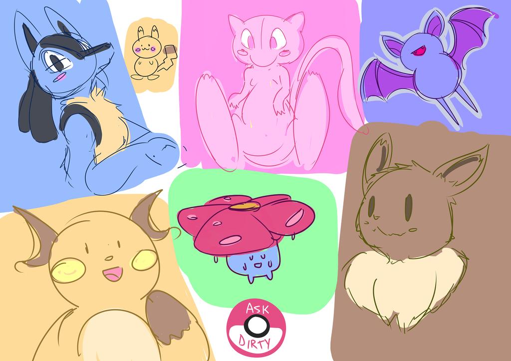 pokemon sketches