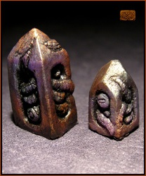 Bronze Purple Obelisks