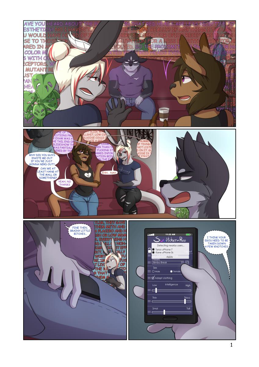 Mall Day - Pg 1
