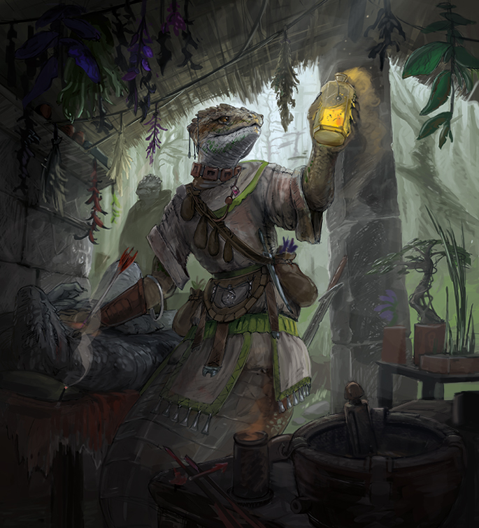 Naphas alchemist (Glimpse of Luna trading card)
