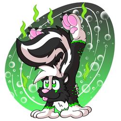 Ravick Skunk handstand
