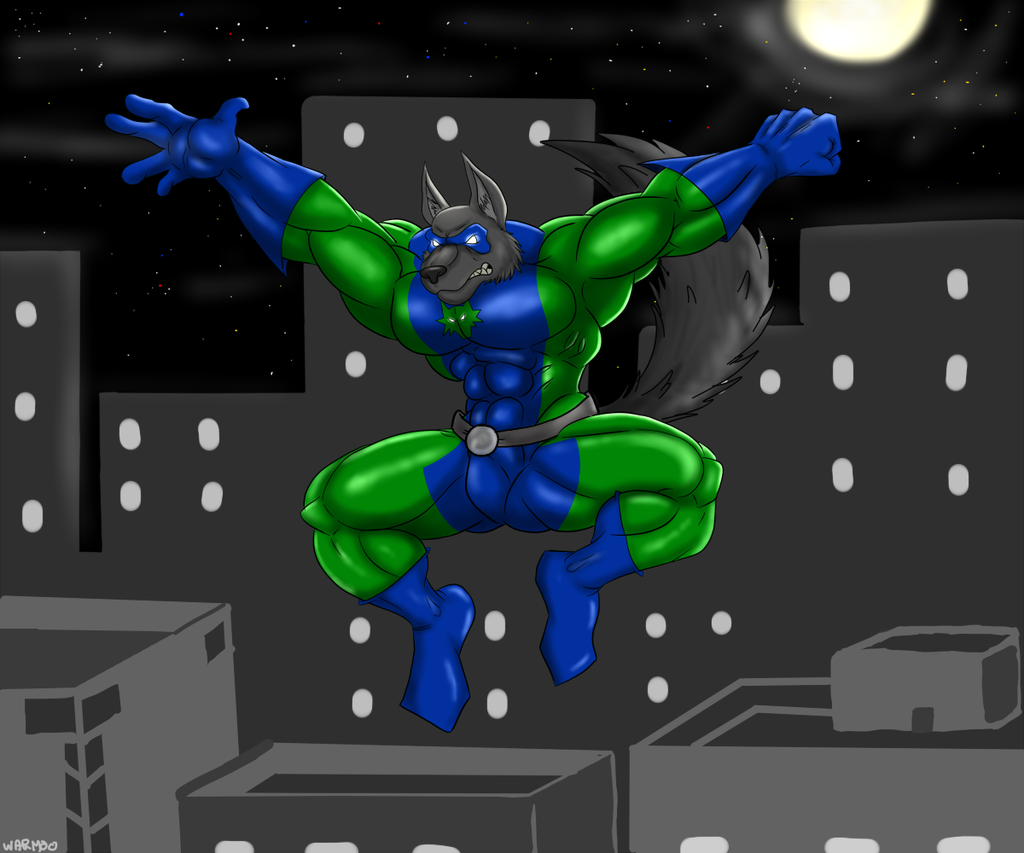 Leaping in the night