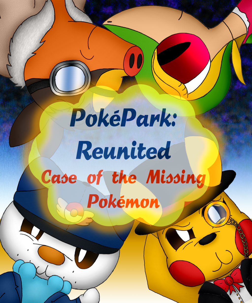 PokePark Reunited: Case of the Mission Pokémon Cover (Commission)