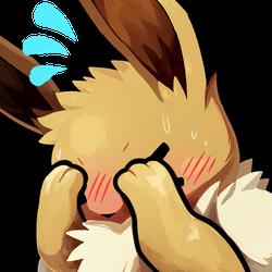 Free Emote: Flustered Eeevee