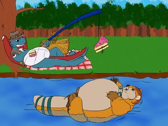 [COMM] The Bestest Otter Bait! - by ImperfectFlame & Me